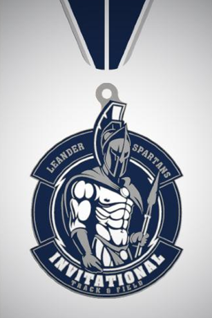 Leander Spartans Invitational medal-2019-02