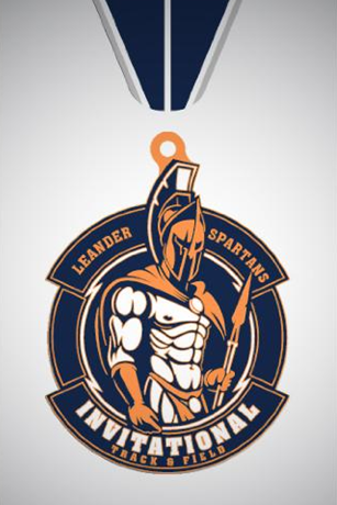 Leander Spartans Invitational medal-2019-03
